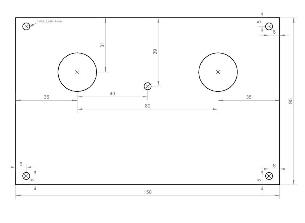 Схема усилителя на лампе 6Ф3П