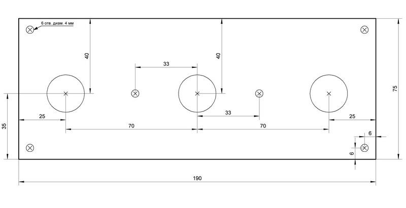 Схема усилителя на лампе 6П3С